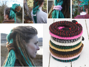 DreadLab - Bendable Spiral Dread Ties (Many Sizes and Colours)