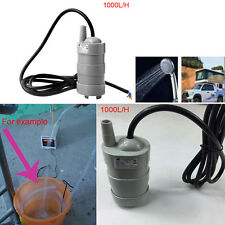DC12V 5M Submersible Water Pump For Aquarium Tank Garden Fountain Pond 1000L/H