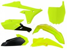 Kit Plastiche Yamaha YZF 250-450 2014=>2017 Giallo Fluo Yellow Plastics Kit