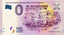 0 Euro Schein 46. AvD OLDTIMER GRAND PRIX Nürburgring 08 2018