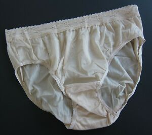 1 NWOT Adonna VINTAGE 100% Nylon High Cut Brief Panties SZ XXL XX-LARGE