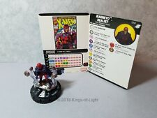 Magneto, Realist - 050 Marvel X-Men Xavier's School HeroClix Mini Super Rare