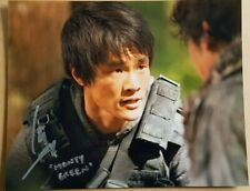 Christopher Larkin Signed 10x8 Photograph Monty Green in The 100