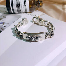 "Chrome Hearts Bracelet 21 cm "" Ring-Shutter-Big lily """