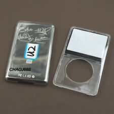 Transparent Faceplate Housing Case U2 Back Cover Tools for iPod 5th Video 30GB