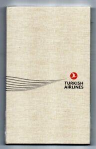 Turkish Airlines Notizbuch| NEU / NEW - rare