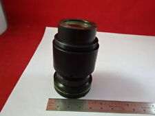 MOUNTED LENS AUS JENA ZEISS NEOPHOT GERMANY OPTICS MICROSCOPE PART AS IS #93-34