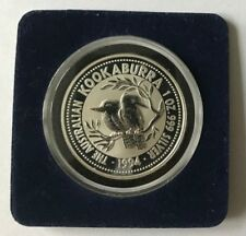 1994 1 Oz Australian Silver Kookaburra Coin Brilliant Uncirculated