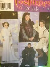 Simplicity Sewing Pattern 4426 Children Luke Leia Star Wars Costume Size S-L UC