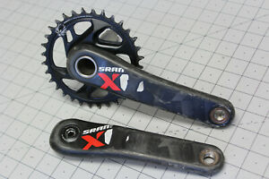 SRAM X01 Mountain Bike Crankset 170mm GXP Narrow Wide 32t Carbon Non-Boost XO1