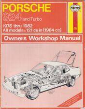 PORSCHE 924 & 924 TURBO ( 1976 - 1982 ) OWNERS WORKSHOP MANUAL