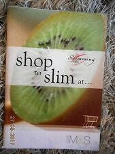 SLIMMING WORLD SHOP TO SLIM AT MARKS M&S 2006 FOR RED & GREEN DAYS ONLY EX CON