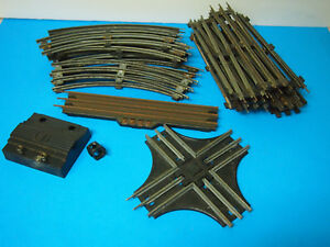 Lot of Train Tracks O Scale 3 Rail STRAIGHT & Curved Pieces WITH EXTRAS