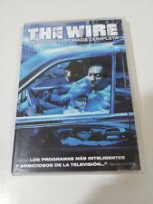 THE WIRE TERCERA TEMPORADA 3 COMPLETA - 5 X DVD ESPAÑOL ENGLISH