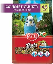 New listing Fiesta For Parakeets,Contains Fruits,Nuts,Veggies And Nutritional Variety