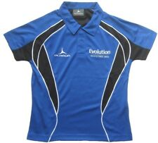 OLORUN ICONIC Kinder Poloshirt - Sportshirt Gr. 12 Blau-Schwarz-Weiß