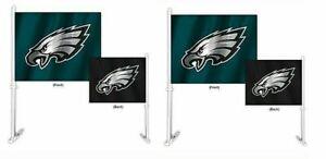 Philadelphia Eagles NFL Home and Away Car Flag ( set of two )