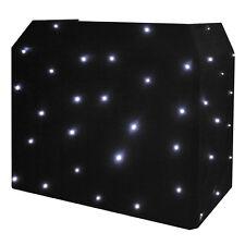 Equinox DJ Booth LED Starcloth System Black Cloth Cool White CW EQLED12B