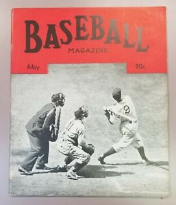 1938 May Baseball Magazine Joe DiMaggio New York Yankees