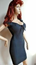BROAD MINDED CLOTHING black pinup dress size XS NWOT