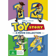Toy Story 4 Movie Collection Quadrilogy 1 2 3 4 R4 DVD