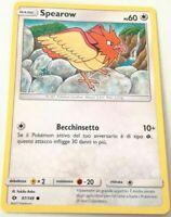 SOLE E LUNA REVERSE FOIL 98//149 FEAROW ITALIANO POKEMON