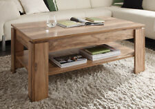 Table basse Table d'appoint Noyer Satin salon bois table meuble DEPOSE Boom