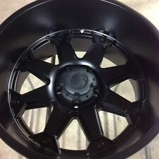 "20"" x 12"" Ultra Bolt satin black 5 x 5.5 Dodge Ram"