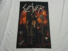 Slayer Devil On Throne Textile Flag