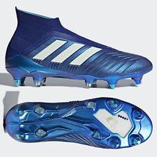 adidas Predator 18+ SG Mens Football Boots Blue 360 Laceless SIZE 8.5 9 10 10.5