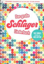 Das große Schlagerliederbuch :  Songbook Melodie/Texte/Akkorde EAN 9783865439864