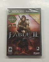 Fable II -- Platinum Hits (Microsoft Xbox 360, 2009) BRAND NEW SEALED!!