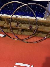 Mavic Helium Wheelset Shimano Tubulars