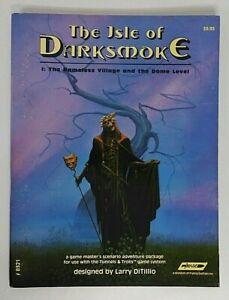 Tunnels and Trolls Scenario Adventure Package The Isle of Darksmoke 1984