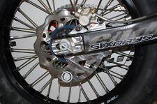 FLATLAND RACING WRAP AROUND REAR DISC GUARD GASGAS 200-300cc  2010-14 13-041
