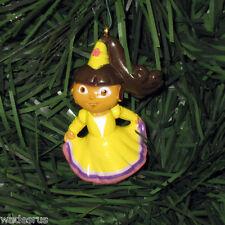 Dora the Explorer Party Dress Custom Christmas Tree Ornament Decoration Holiday