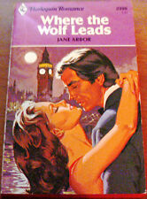WHERE THE WOLF LEADS by JANE ARBOR 1981 PB