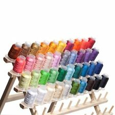 40 Spools Brother/Disney Colors Embroidery Machine Thread STUNNING COLORS