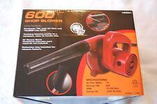 600W Watt Electric Hand Held Blower  for Shop or Garden Blow Dust Clean