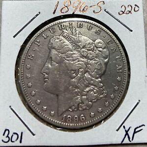 1896-S   Morgan Dollar -301