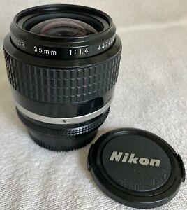 Nikon 35mm f/1.4 AIS Nikkor Manual Focus Lens
