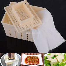 Utility Tofu Maker Kitchen DIY Cloth Press Mold Cheese Soy Pressing Mould Kit US