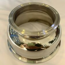 "Bowl Reducer Tri Clamp / Tri Clover 2"" to 3"" 4"" 6"" Stainless Steel 304"