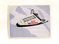 "VINTAGE Lockheed Martin -11 Suborbital Space Plane Embroidered 4 1/2"" PATCH"