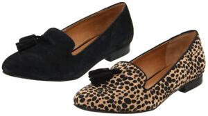 Kelsi Dagger Women's Tabitha Loafer Smoking Flats Shoes, Color Options