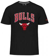 New Era - NBA Chicago Bulls Logo Del Equipo Camiseta - Negro