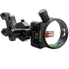 New TruGlo Storm 5 Pin Black Bow Sight (.019) Pins w/ LED Light TG3015B