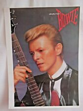 Poster David Bowie Vintage Unused Stock