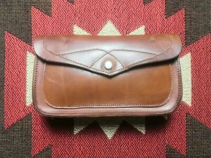 RRL Double RL Ralph Lauren Leather Hand Bag Wallet