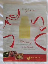 2007 Magazine Advertisement Page For Real Butter Holiday Baking Cookies Food Ad